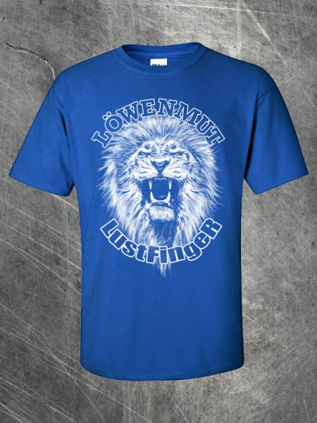 "T-Shirt ""Löwenmut"""